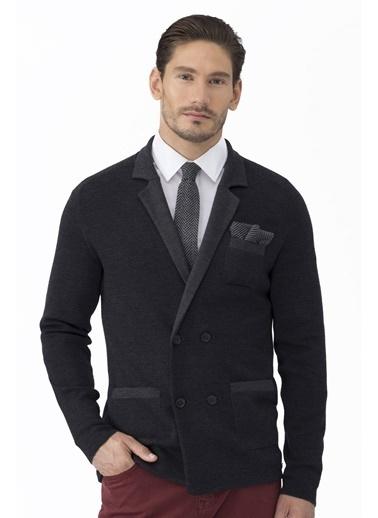 Slim Fit Yün Blazer Ceket-Hemington